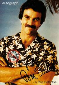 Autogramm von Tom Selleck